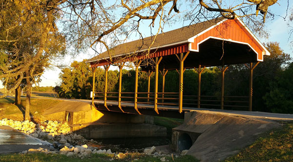 Covered Bridge, White Bluff Resort